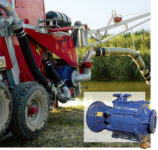 mod XJM with built-in engine | RM Irrigation Equipment